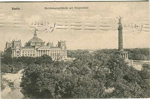 Historische Postkarten Berlin 001