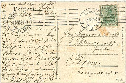 Historische Postkarten Berlin_001rückseite