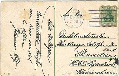 Historische Postkarten Berlin_002rückseite