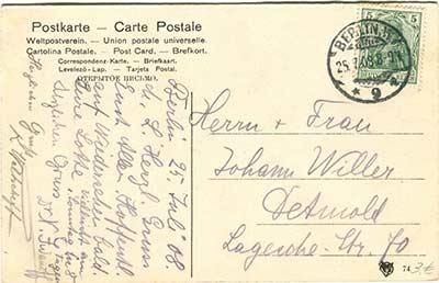 Historische Postkarten Berlin_003rückseite