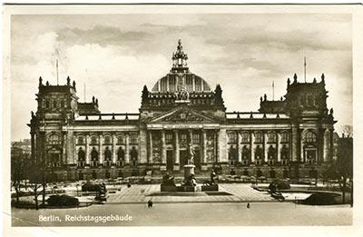 Historische Postkarten zum Thema Reichstagsgebäude 066_001