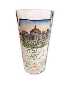 antikes deutsches Souvenirglas 003