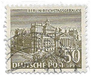Briefmarke Berlin