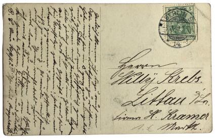 antike souvenir berlin postkarte 005_rückseite